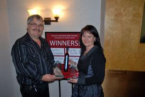 Ben and Tersia De Jager Winning Wine